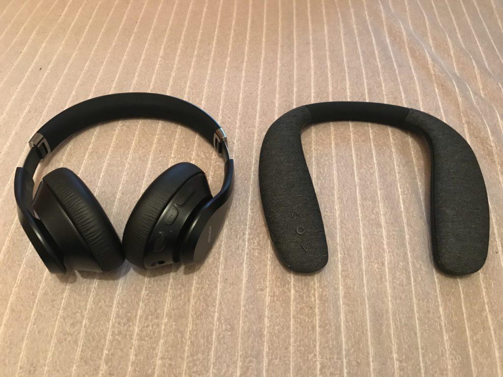 音楽を流して仕事したい人へ紹介したい2種類のヘッドホン